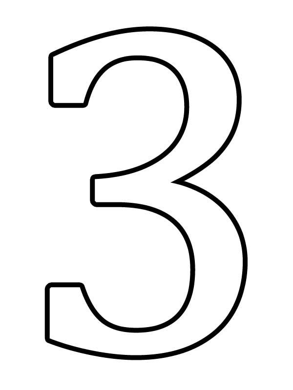 Распечатать раскраску числа