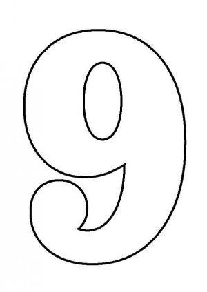 Распечатать раскраску по цифрам