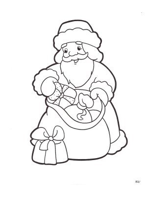 Раскраски к Новому году для малышей. Скачать бесплатно