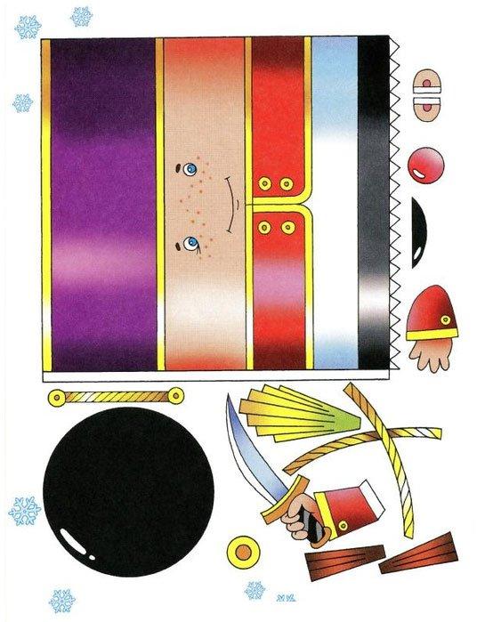 Игрушка щелкунчик своими руками