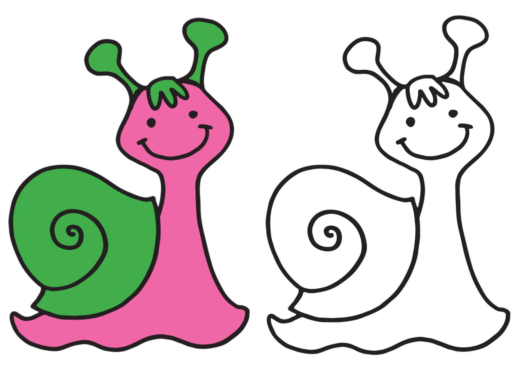 Раскраски для малышей. Забавные животные. №1