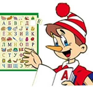 Загадки про буквы и алфавит
