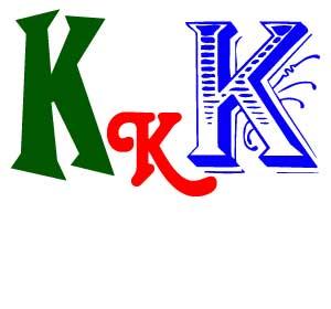 Шаблоны буквы К формата А4
