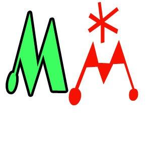 Буквы М формата А4 для печати