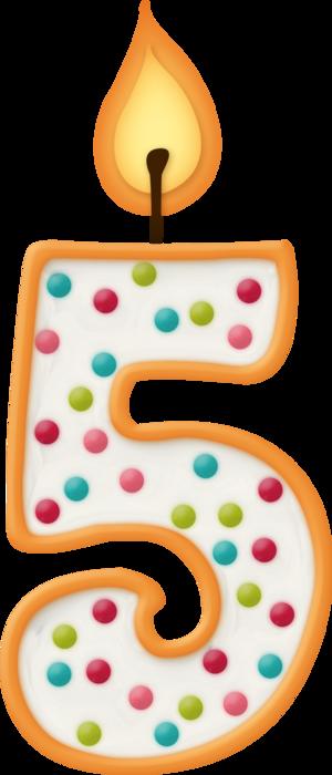 Цифры праздничные