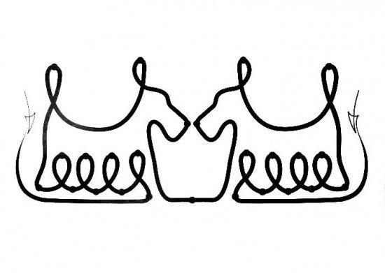 Симметричные обводилки
