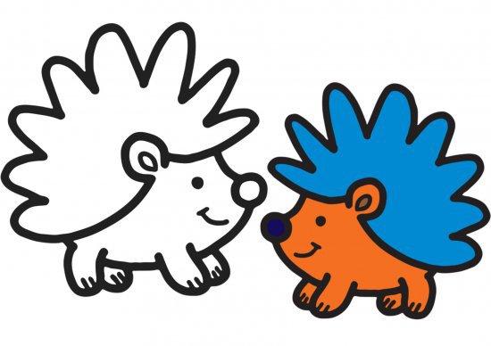 Раскраски для малышей. Забавные животные и звери, скачать ...