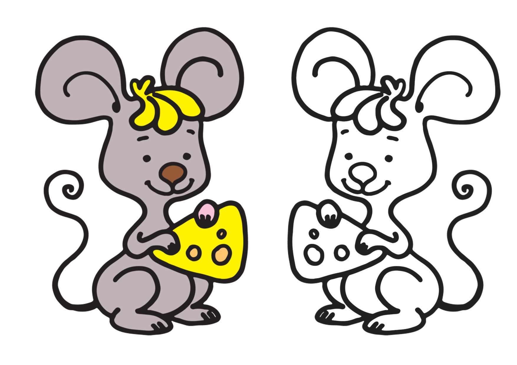 Забавные животные. Раскраски животных для малышей распечатать