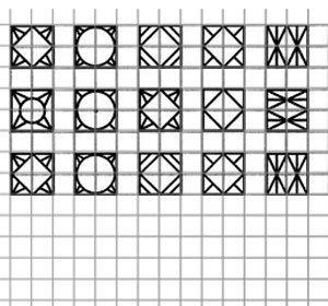 Рисуем на бумаге в клетку Рисунки по клеточкам