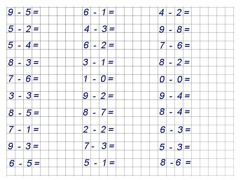 Математические раскраски для 3 класса на умножение 163