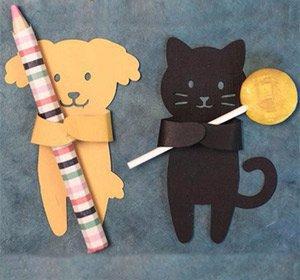 Забавные держалки для маленьких сувениров