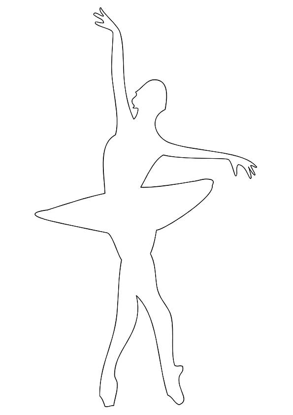 Скачать шаблоны балерин