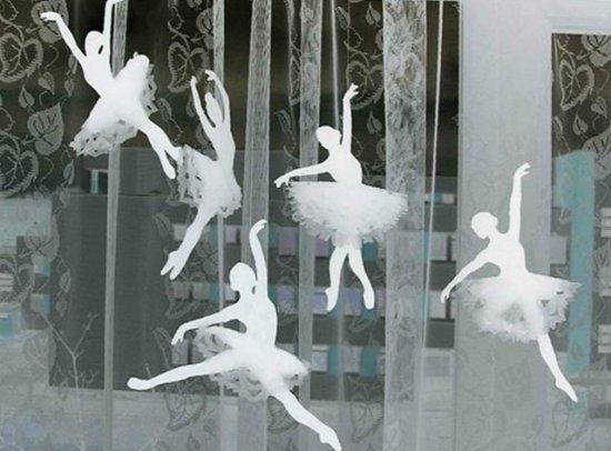 Балерины снежинки