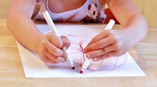 Рисуем двумя руками сразу