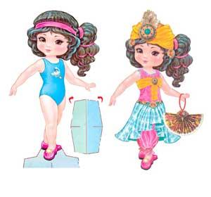 бумажная куколка