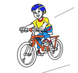 Стихи про велосипед для детей