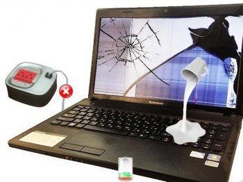 Ремонт и восстановление ноутбука, залитого жидкостью