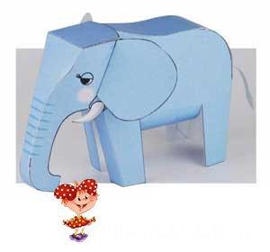 Слон из бумаги