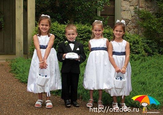 Детки на свадьбе: о самых маленьких гостях