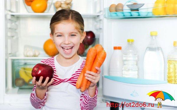 Как убедить ребенка правильно питаться